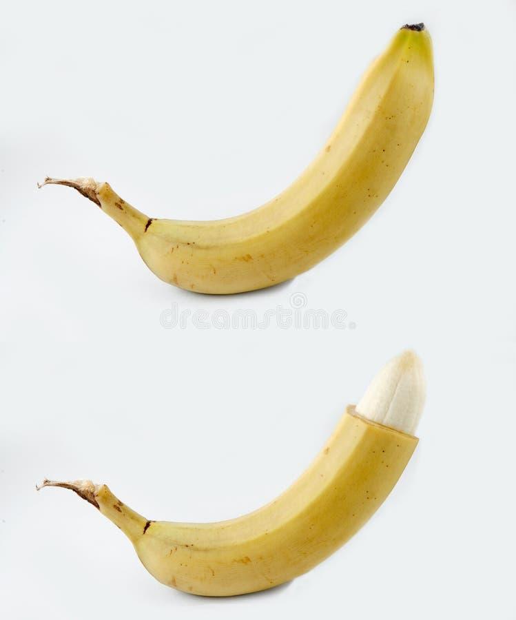 Circuncisión - antes y después foto de archivo libre de regalías