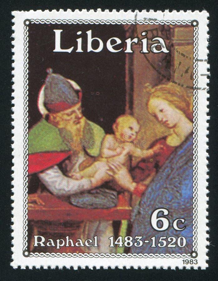 Circuncisión de Cristo por Raphael imagenes de archivo