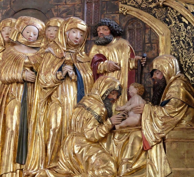 Circuncisión de Jesús foto de archivo