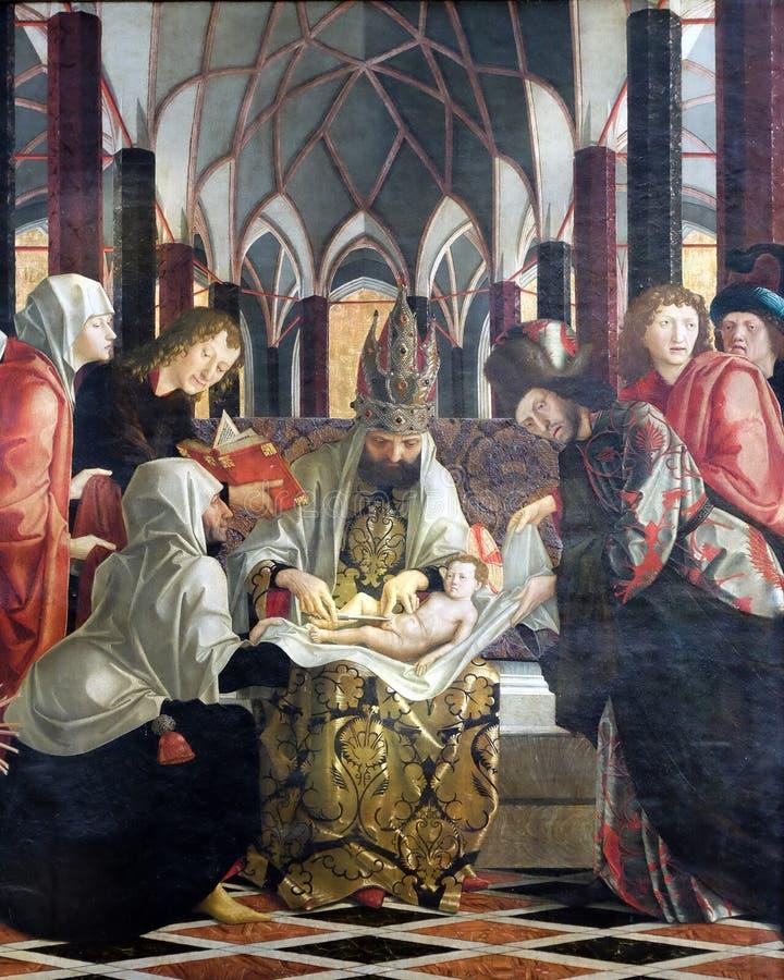 Circuncisión de Jesús imagen de archivo