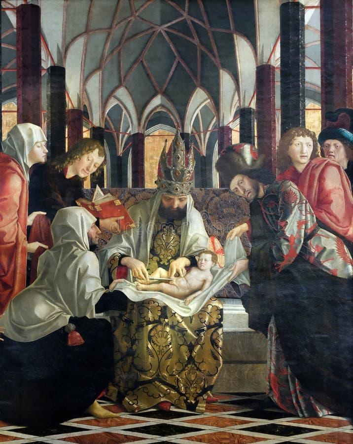 Circuncisión de Jesús imagen de archivo libre de regalías