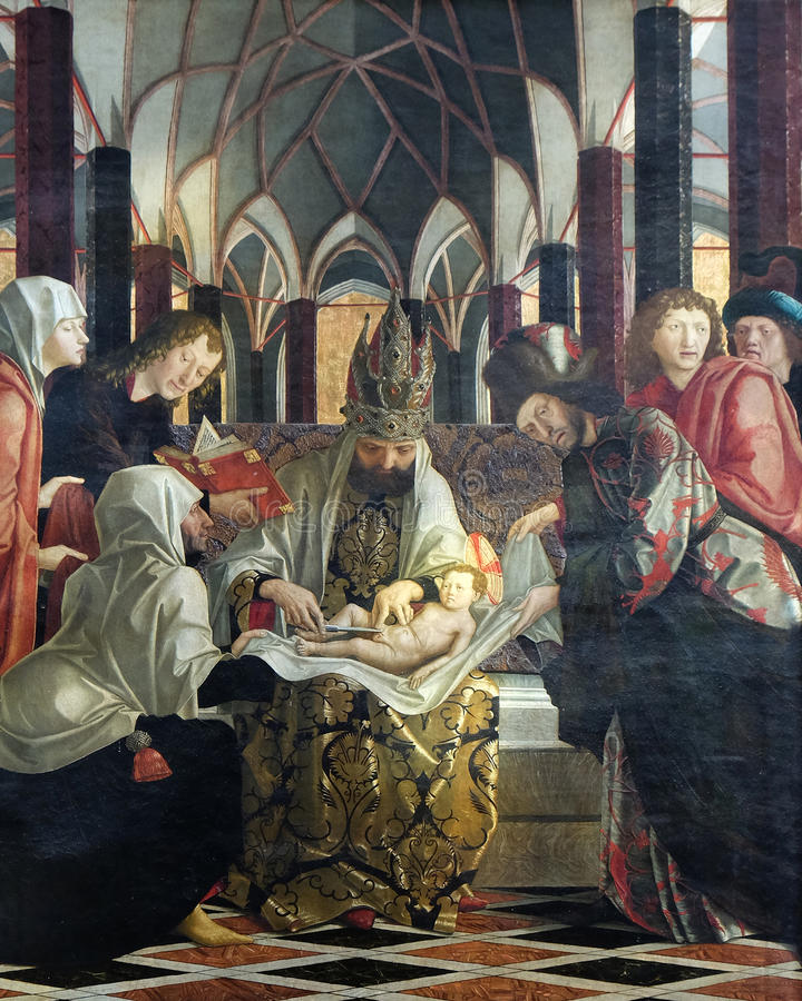 Circuncisión de Jesús fotografía de archivo