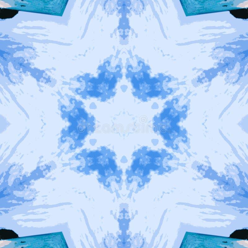 Circunde el fondo sintético caleidoscópico del arte, geometría compleja imágenes de archivo libres de regalías