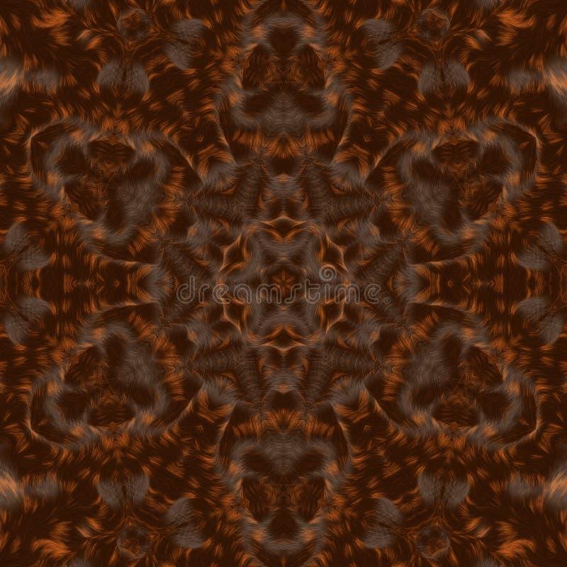 Circunde el fondo sintético caleidoscópico del arte, geometría compleja imagen de archivo libre de regalías