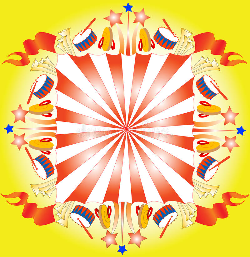 Circus royalty free illustration