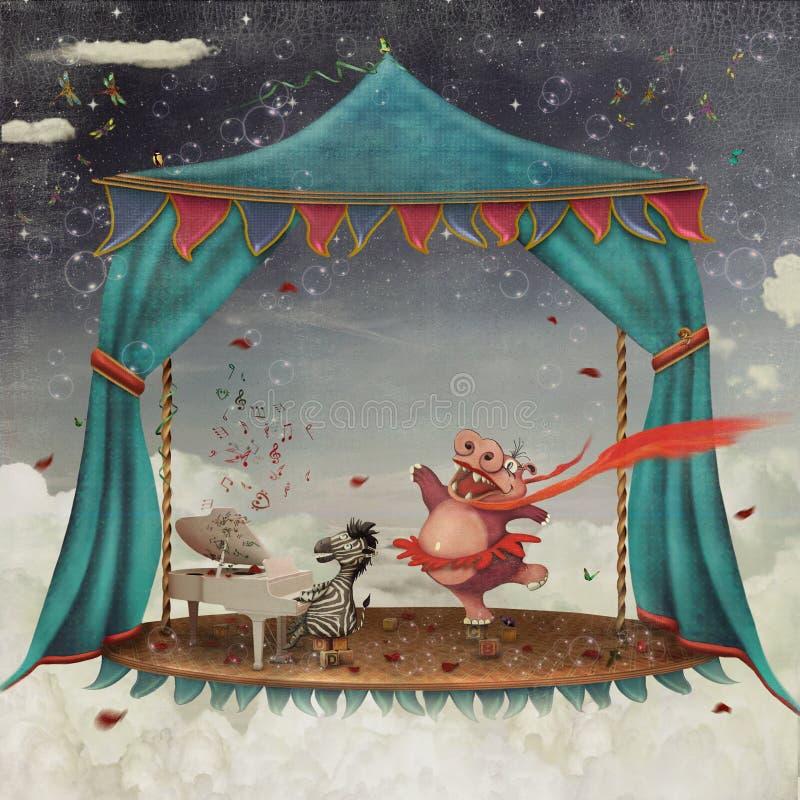 Circus stock illustratie