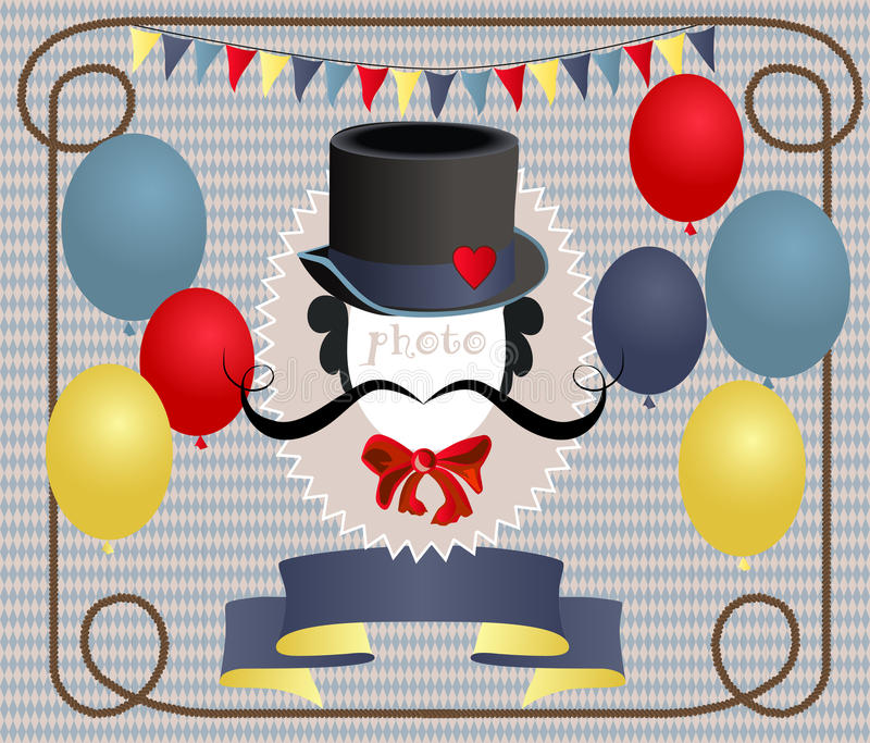Download Circus stock vector. Image of magician, cell, blue, entertainer - 23508389