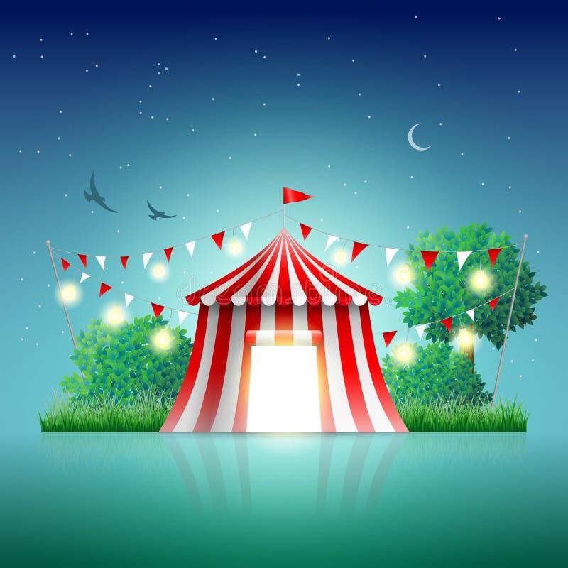 circus ilustração royalty free