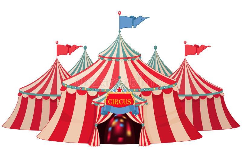 circus ilustração stock