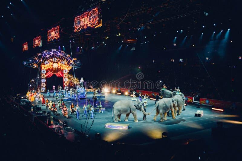 Circus Arena stock photography