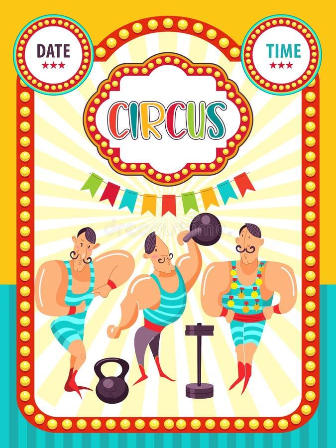 Circus artist royalty free illustration