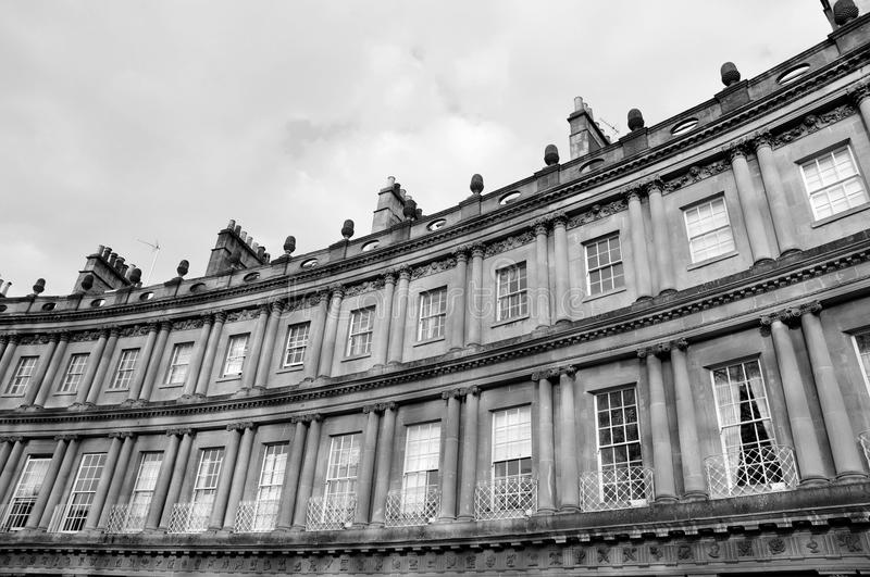 Download The Circus in Bath England stock image. Image of columns - 21156515