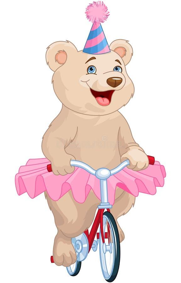 Circus Bear stock illustration