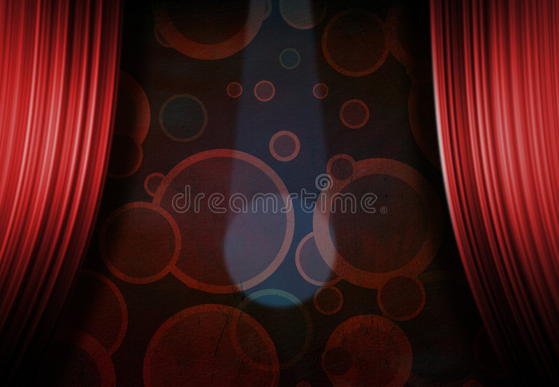Circus or Carnival Stage stock illustration