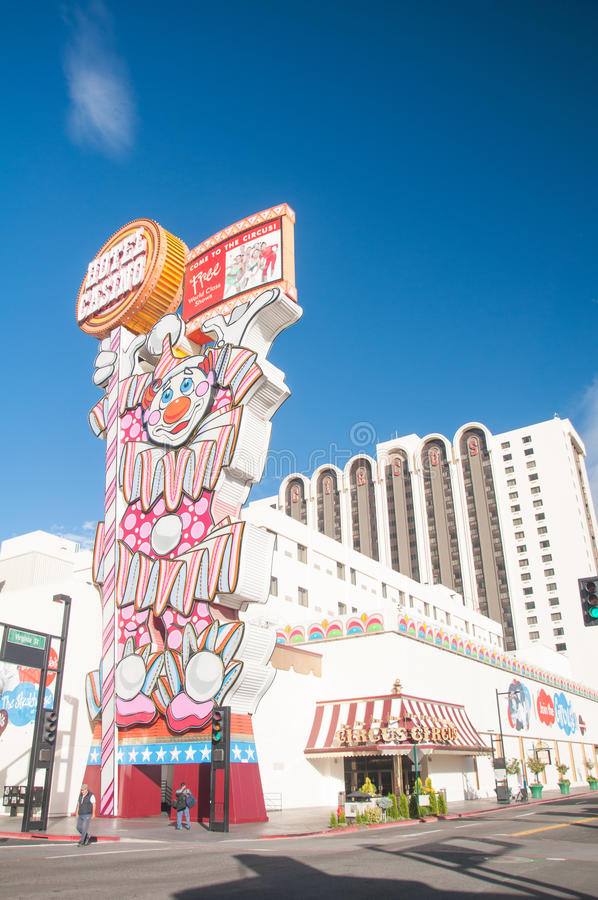 Circus Circus Reno Editorial Stock Photo