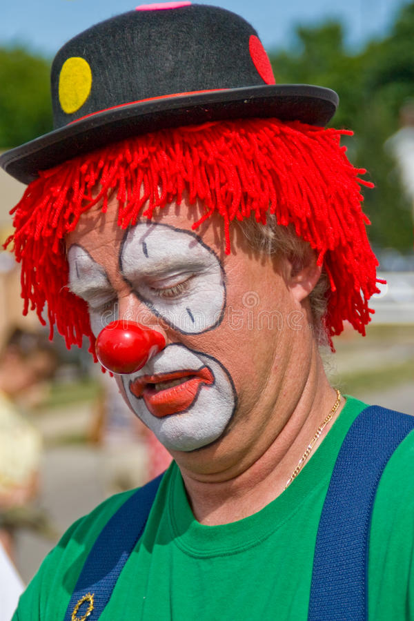 Download Circus Clown stock photo. Image of clothes, happy, makeup - 14027566