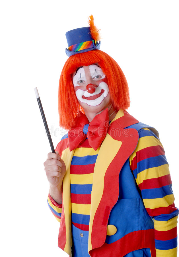 Download Circus Clown stock image. Image of headshot, contact, rubber - 1578001