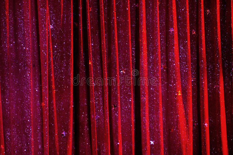 Circus curtain background texture. Circus red curtain background texture royalty free stock image