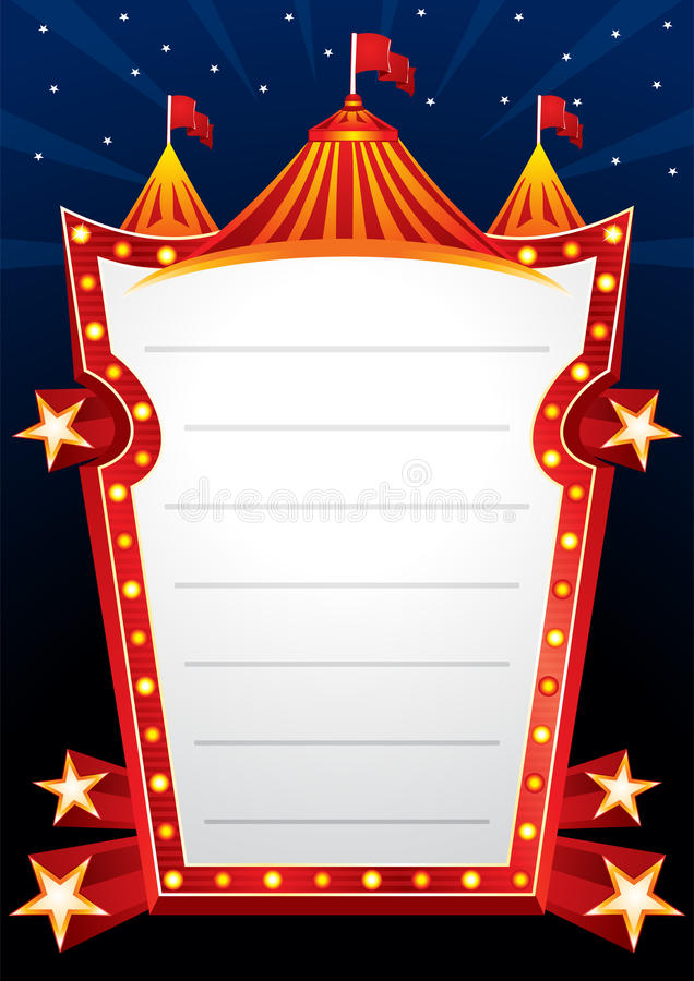 Circus design royalty free illustration