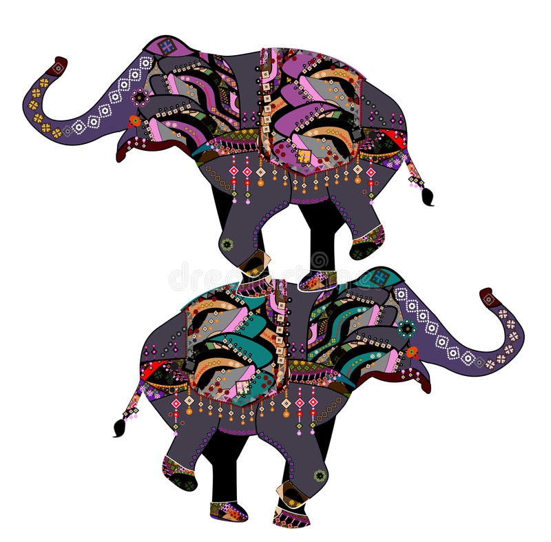 Download Circus elephants stock vector. Illustration of circus - 16775790