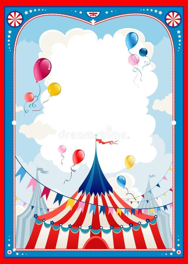Download Circus frame stock vector. Image of frame, cabaret, flag - 25290530