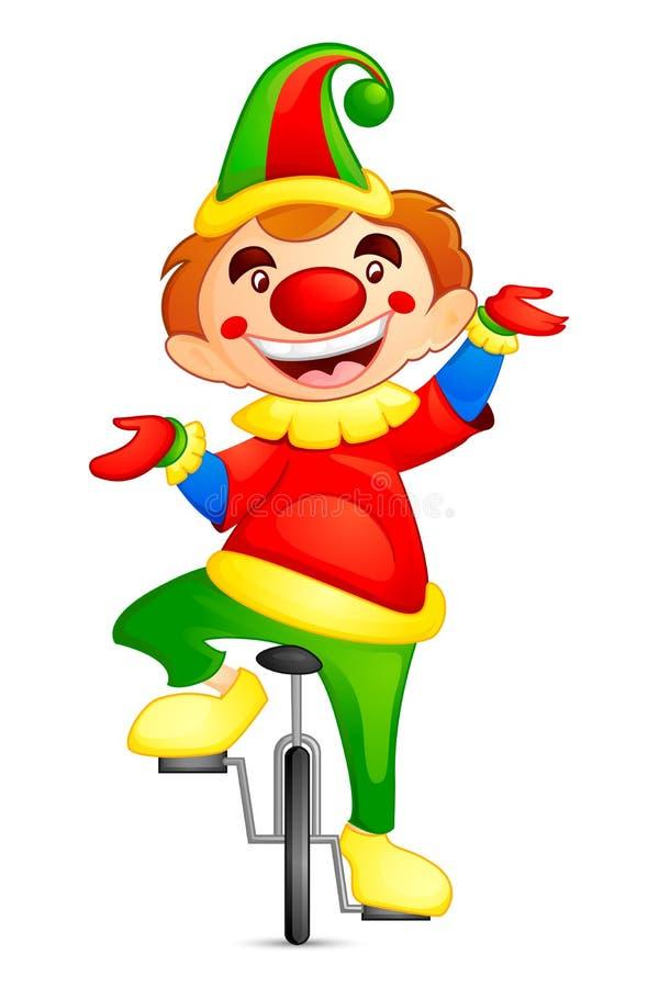 Download Circus Joker stock vector. Image of dress, funny, jugglery - 27532362