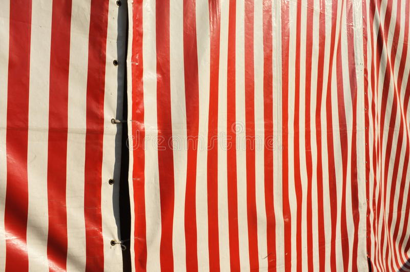 Circus. Outside view of a circus tent for your circus or entertainment copy stock photography