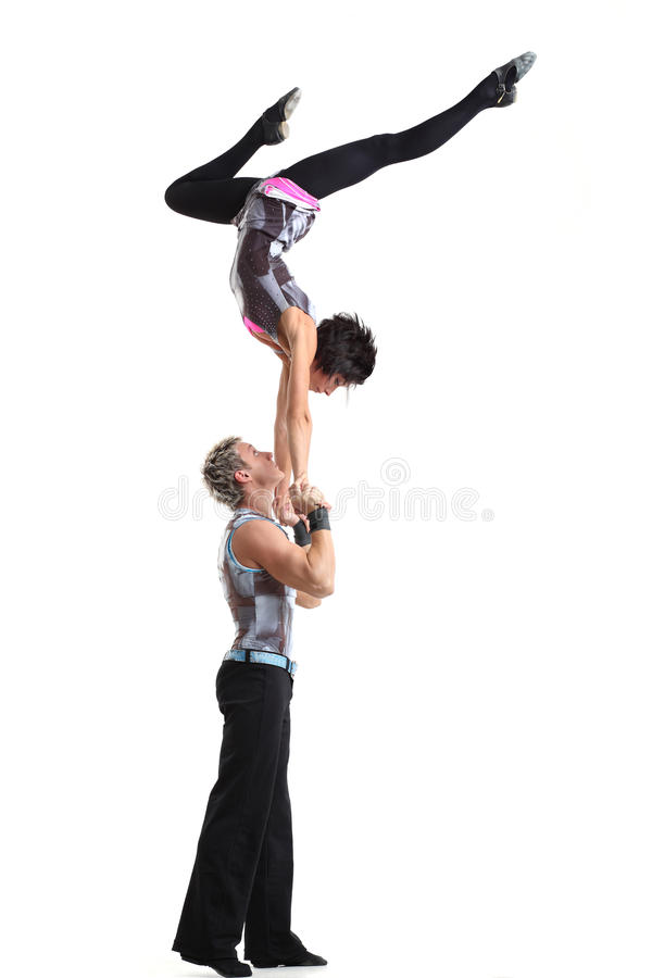 Circus people royalty free stock images