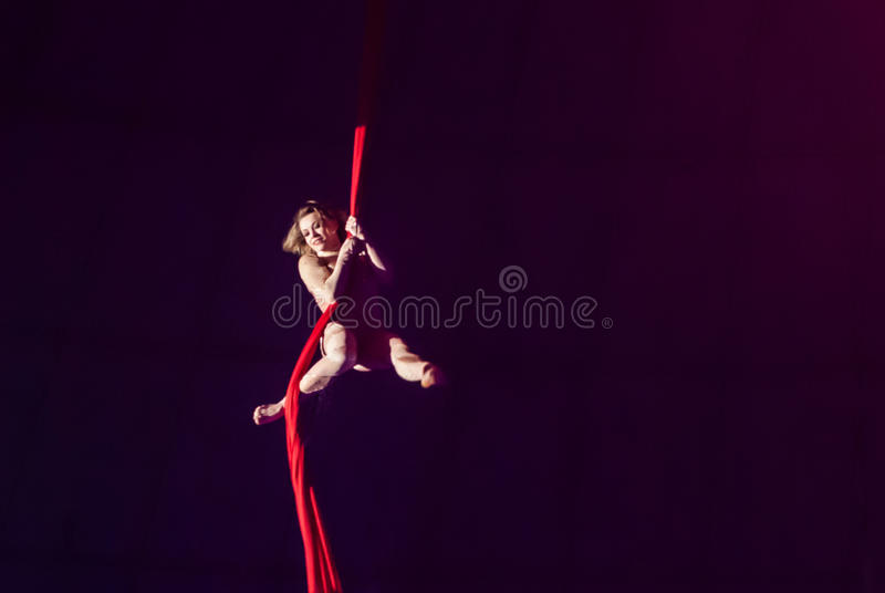 Circus performers royalty free stock image