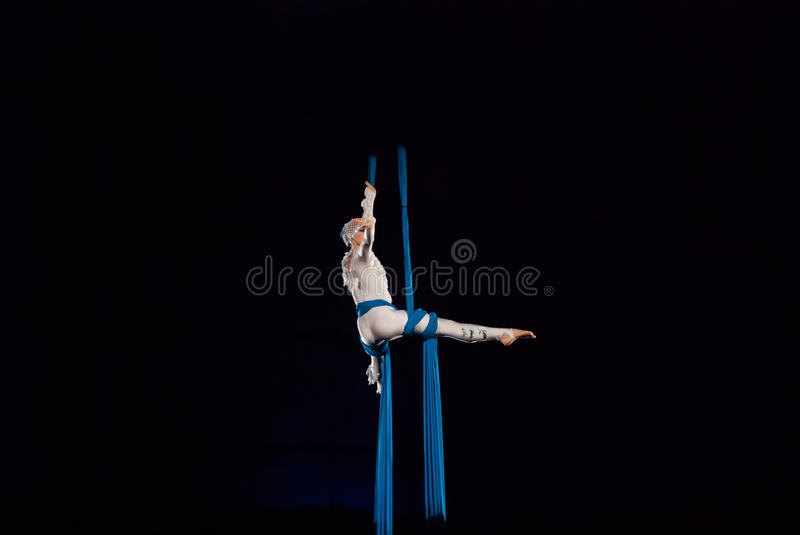 Circus performers stock photos