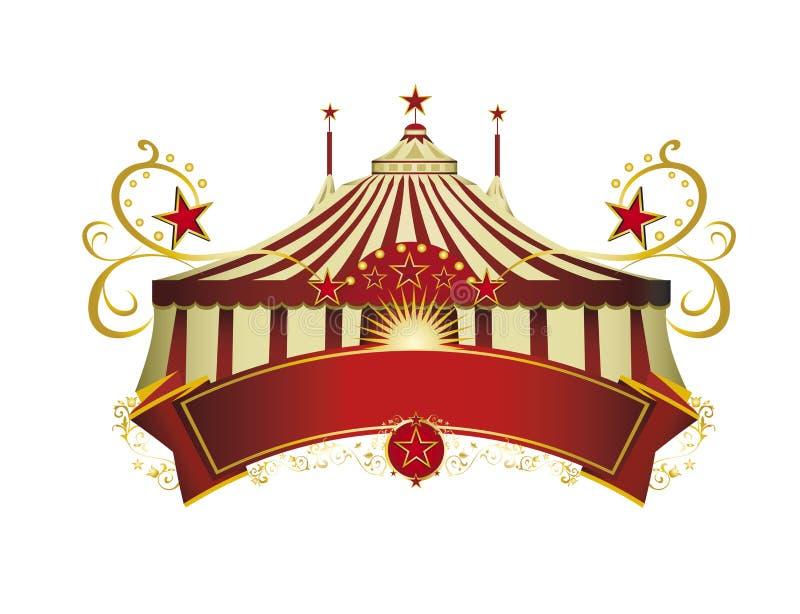Circus signboard royalty free stock photos
