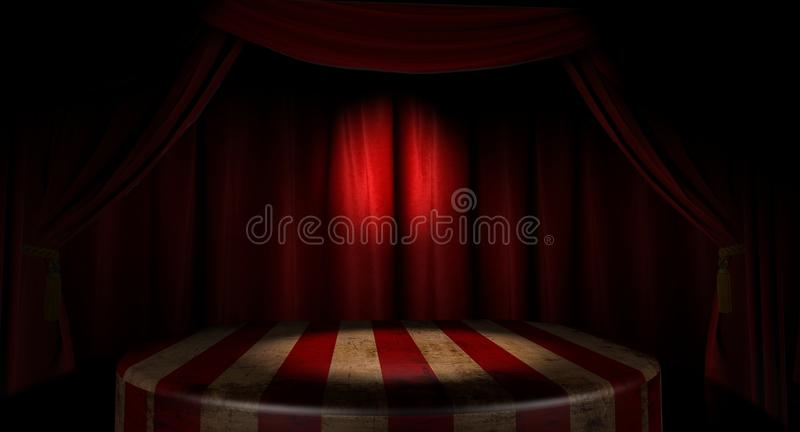Circus Stage stock images