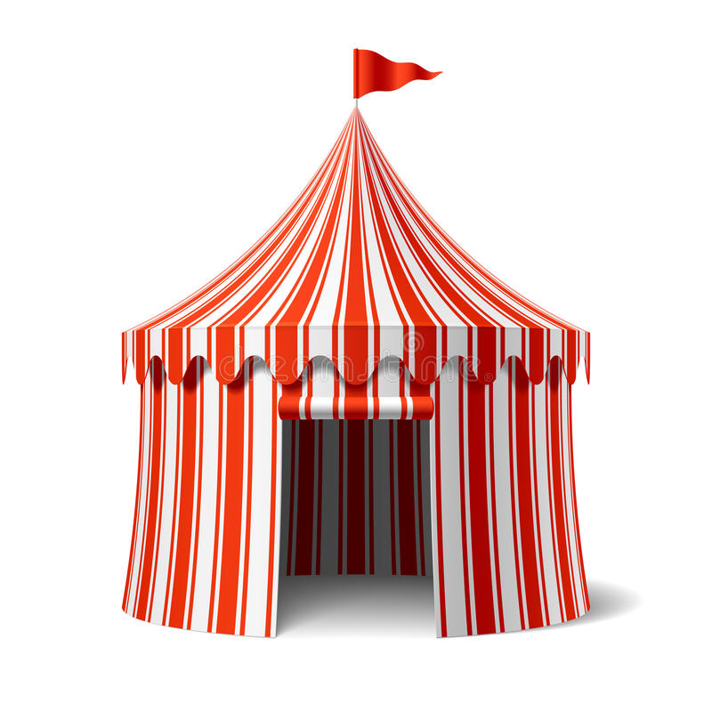 Download Circus tent stock vector. Illustration of stripes festival - 25008286  sc 1 st  Dreamstime.com & Circus tent stock vector. Illustration of stripes festival - 25008286
