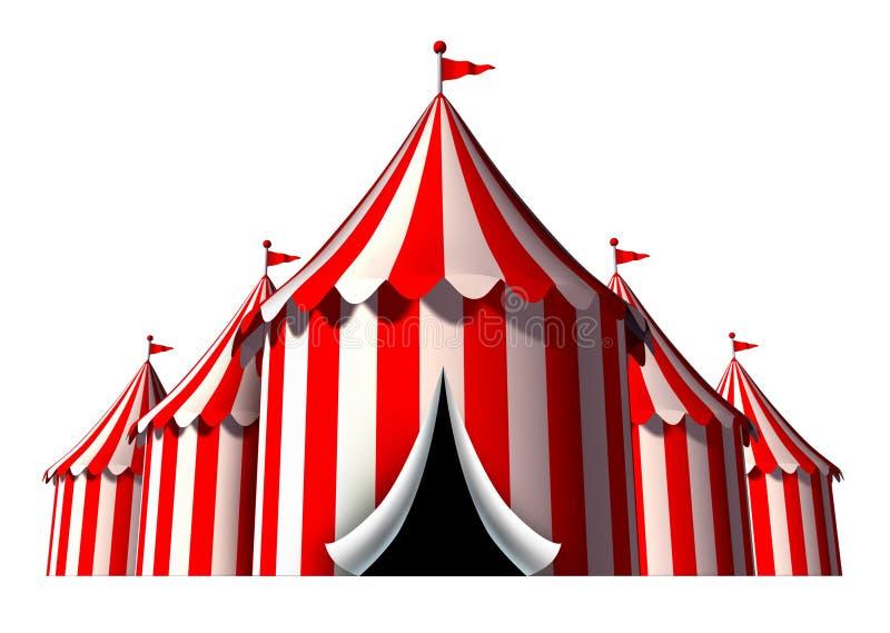Circus Tent royalty free illustration