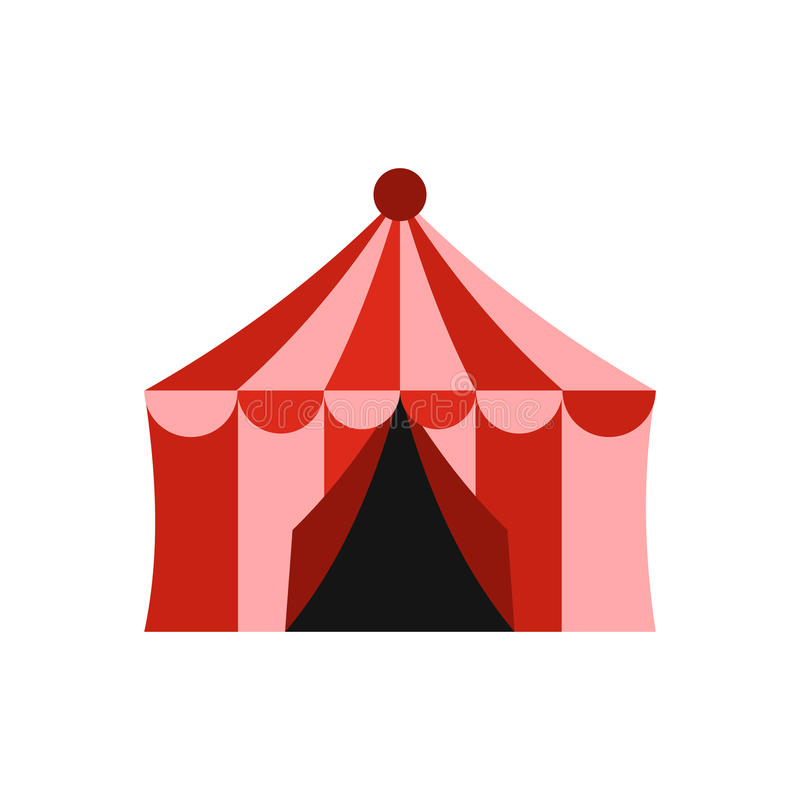 Download Circus Tent Icon Flat Style Stock Vector - Illustration of object marquee  sc 1 st  Dreamstime.com & Circus Tent Icon Flat Style Stock Vector - Illustration of object ...