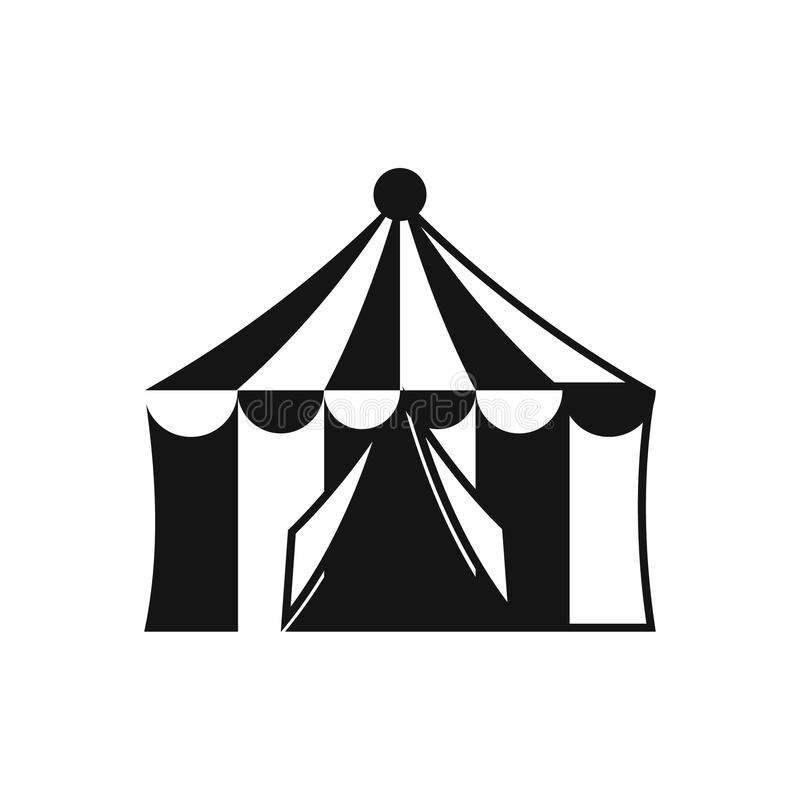 Download Circus Tent Icon Simple Style Stock Vector - Illustration of childish cupola  sc 1 st  Dreamstime.com & Circus Tent Icon Simple Style Stock Vector - Illustration of ...