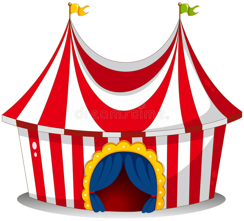 Download A circus tent stock vector. Illustration of park image - 31092397  sc 1 st  Dreamstime.com & A circus tent stock vector. Illustration of park image - 31092397