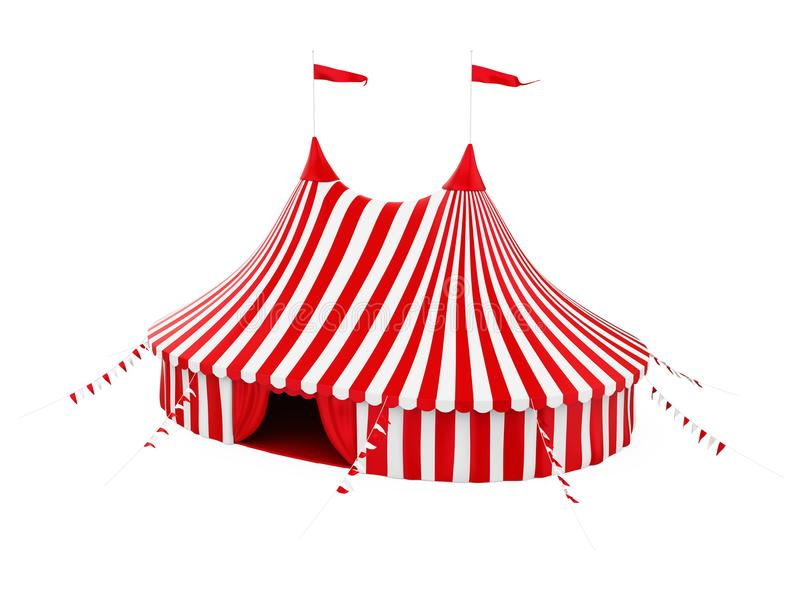 Circus Tent Isolated vector illustration
