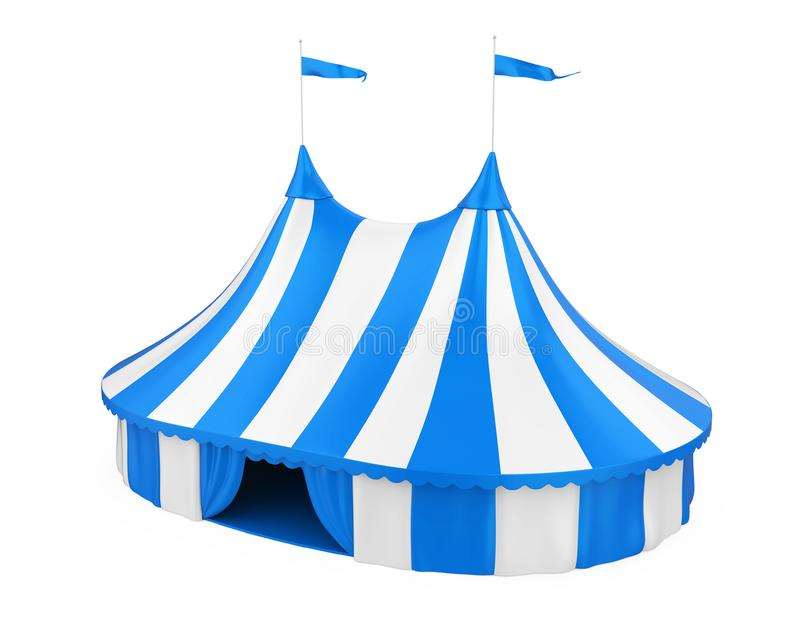 Circus Tent Isolated royalty free illustration