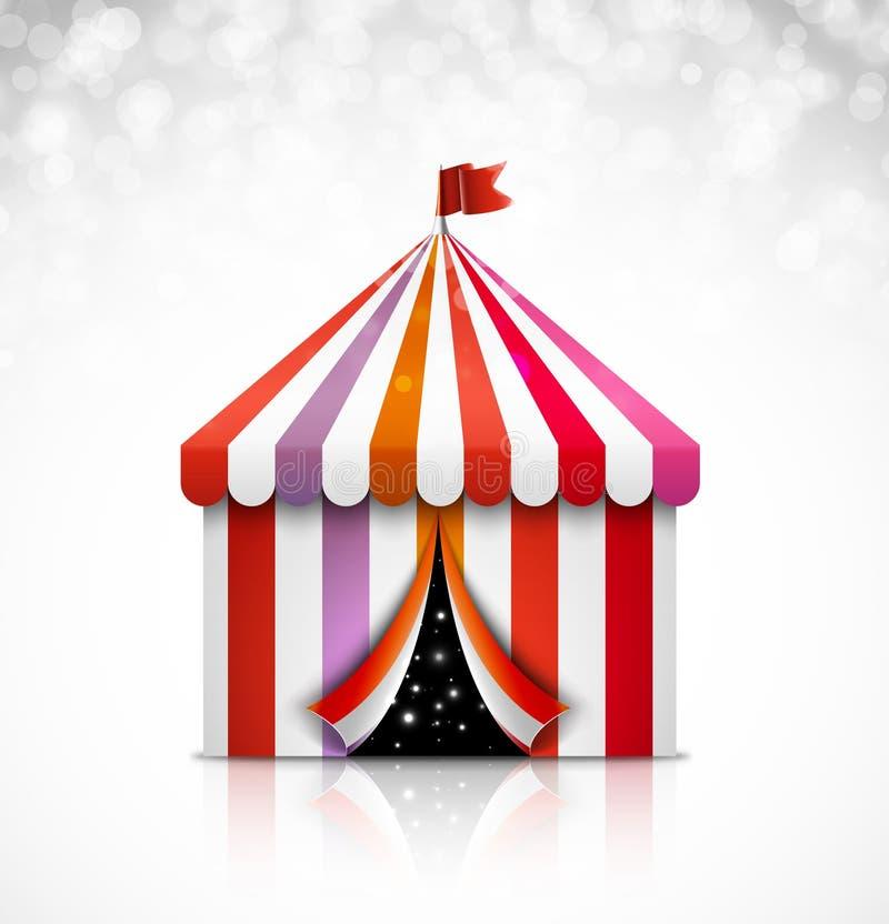 Circus tent vector illustration