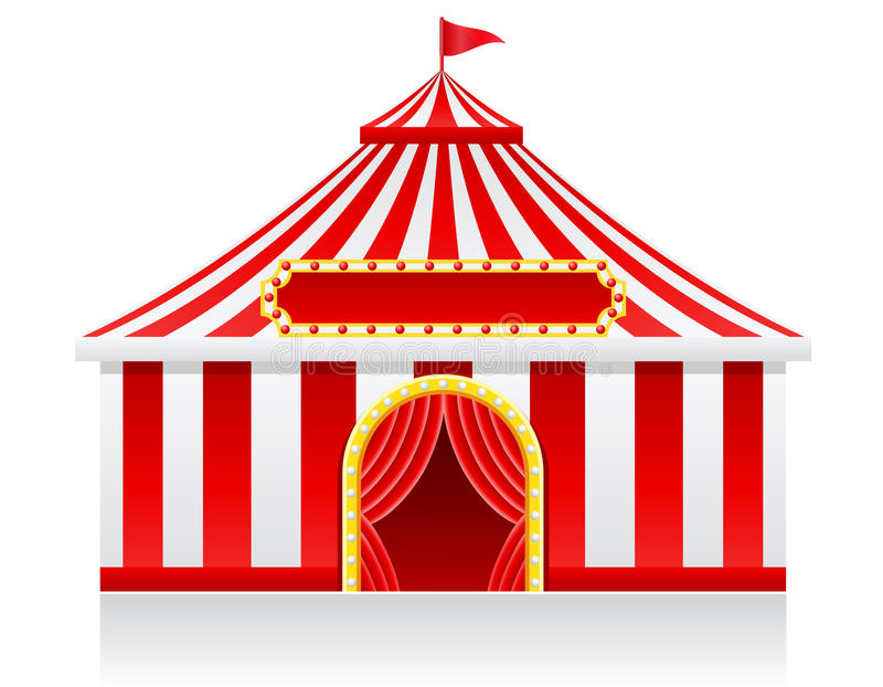 Download Circus Tent Vector Illustration Royalty Free Stock Photos - Image: 33876538