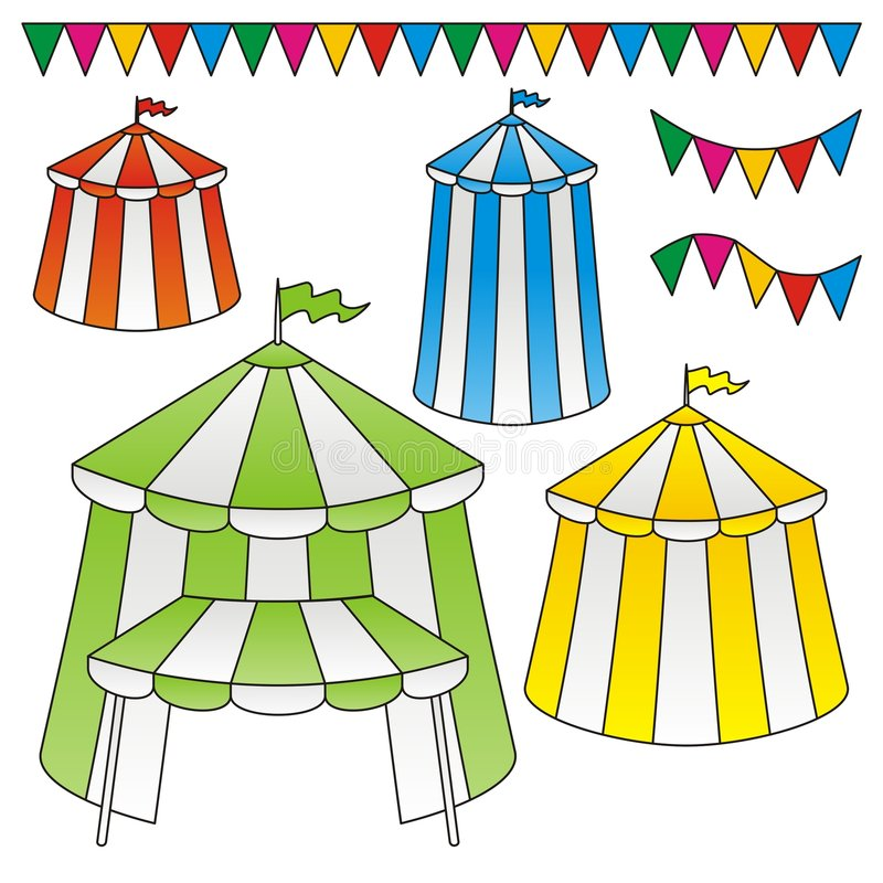 Download Circus tents stock vector. Illustration of illustration - 6613496
