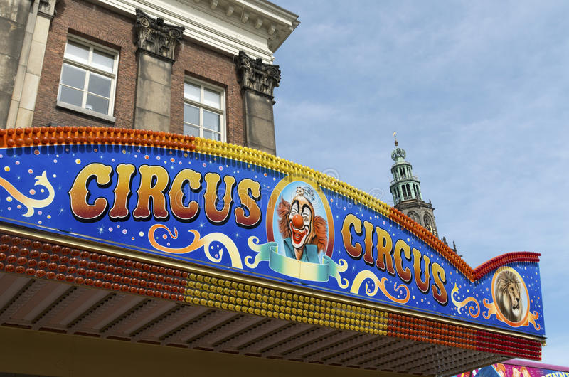 Circusteken royalty-vrije stock fotografie