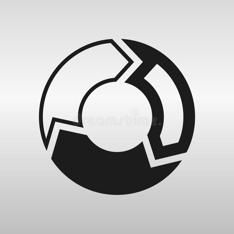 cirkel stock illustrationer