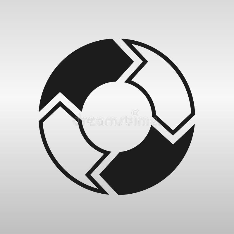 cirkel royaltyfri illustrationer