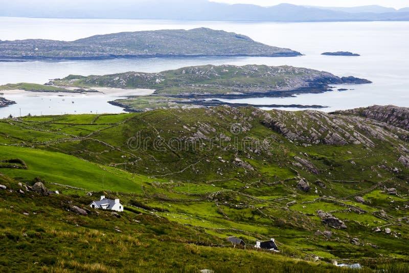 Cirkel av Kerry på Irland royaltyfria foton