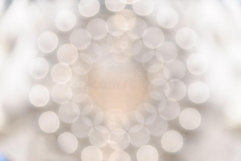 Cirkel bokehlicht royalty-vrije stock fotografie