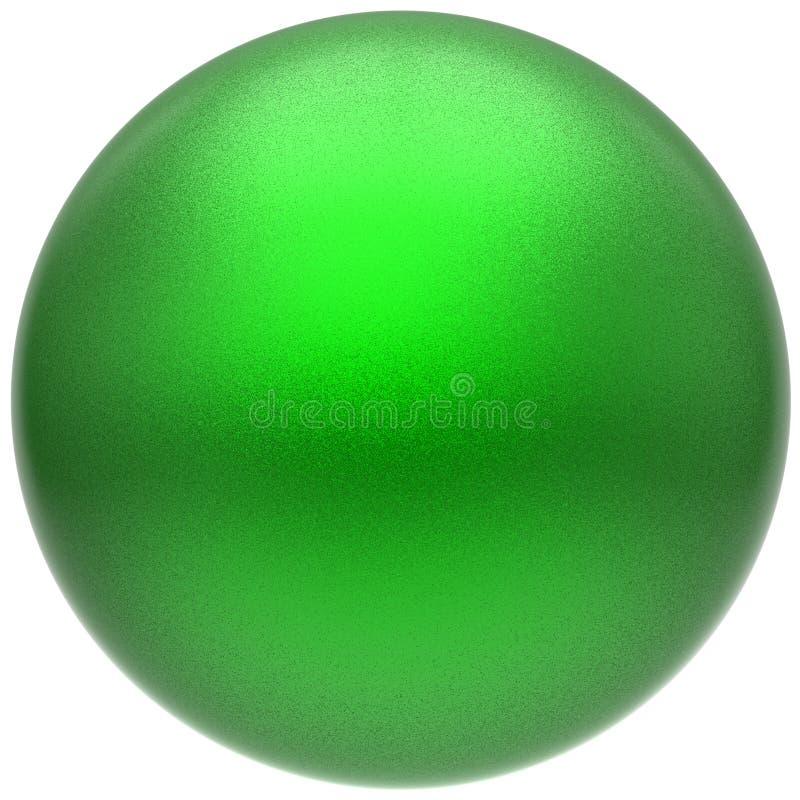Cirkel för boll för knapp för sfärrundagräsplan minimalistic grundläggande hopslingrad vektor illustrationer