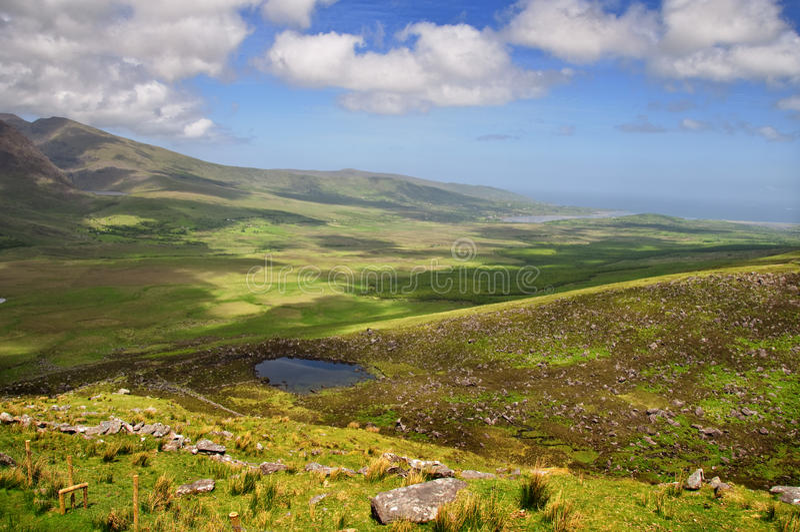 cirkel för ireland irländsk kerrynationalpark arkivfoton
