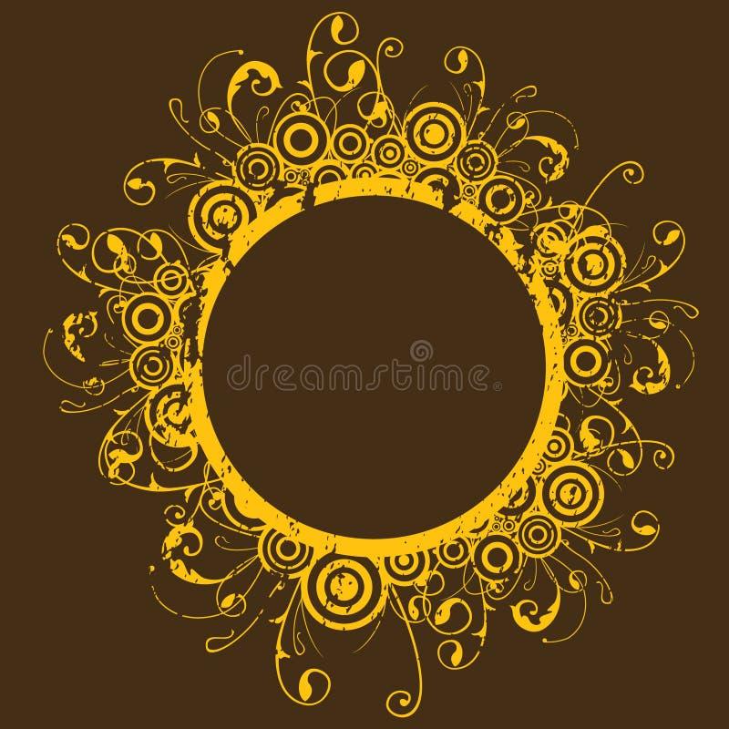 Cirkel frame royalty-vrije stock afbeeldingen
